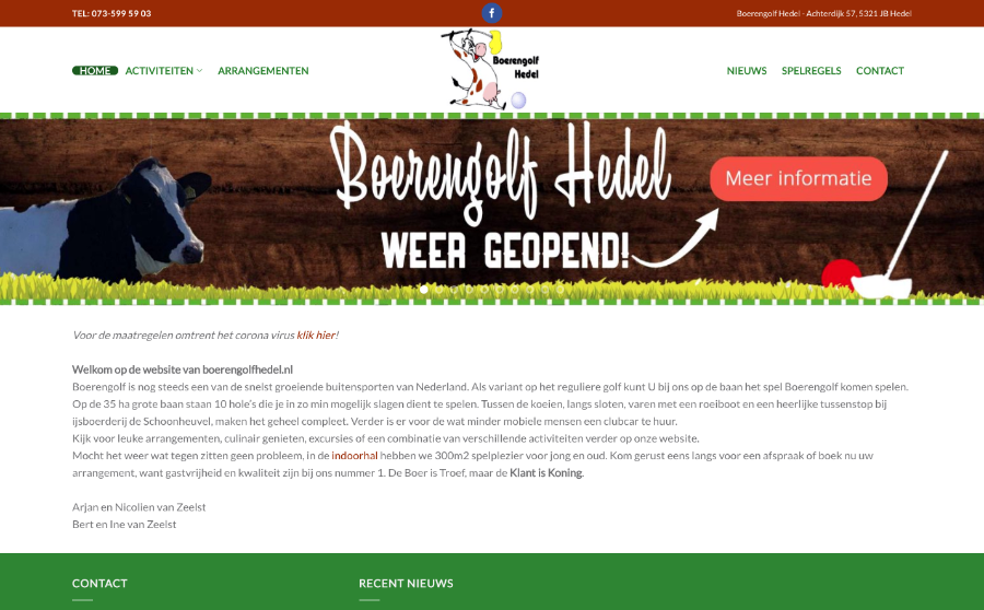 Boerengolf Hedel Molenhuis Zuilichem