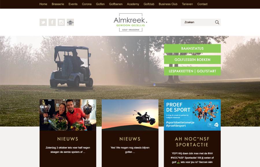 Golfpark Almkreek Molenhuis Zuilichem